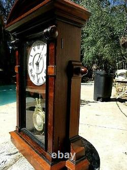 Antique Seth Thomas Mantle Clock ST. PAUL 1880