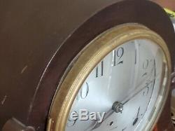 Antique Seth Thomas Mantle Clock With Original Key- Tested And Working