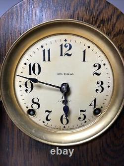 Antique Seth Thomas Mantle Clock with Key