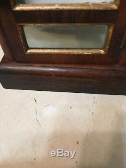 Antique Seth Thomas Mini Cottage Clock Horseshoe Shape Movement #1