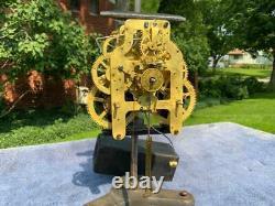 Antique Seth Thomas Movement Eclipse City Series Mantle Shelf Clock Runs Good