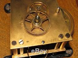 Antique Seth Thomas No 2 Oak Wall Regulator Clock
