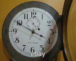 Antique Seth Thomas No. 2 Weight Driven Wall Regulator Clock 8-day