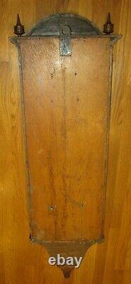 Antique Seth Thomas No. 6 Weight Driven Wall Regulator Clock 8-day