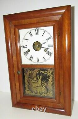 Antique Seth Thomas Ogee Clock 8-Day, Time/Strike, Key-wind
