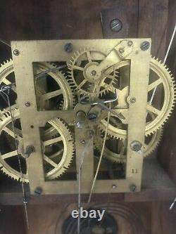 Antique Seth Thomas Ogee Clock (Complete/WORKS/1800s)