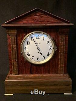 Antique Seth Thomas SONORA Westminster CHIME 8 Day Adamantine Mantle Clock GRO