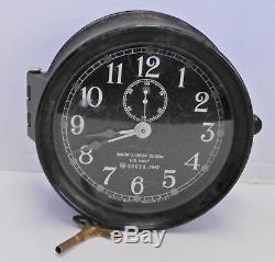 Antique Seth Thomas Ship's Clock With Bakelite Case