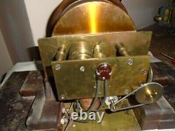 Antique-Seth Thomas-Ships Clock-To Restore/Parts-Ca. 1900-#F204