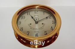 Antique Seth Thomas Ships Lever Clock Large 12 Circa 1905