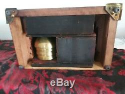 Antique Seth Thomas Sonora 4 Bell Chime Westminster Clock Rare
