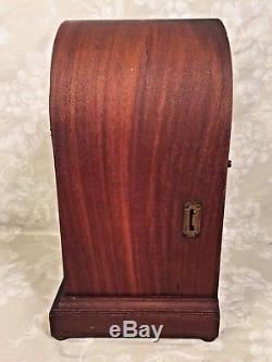 Antique Seth Thomas Sonora Chime 5 Bell Clock Runs! 89AG & 90B Mvmts Inlaid Case