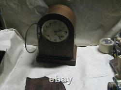 Antique Seth Thomas Sonora Chime on Rods Double Movement Clock Parts / Repair