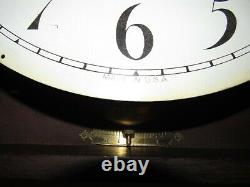 Antique Seth Thomas Thirty Day Inlaid Gallery Wall Regulator Clock