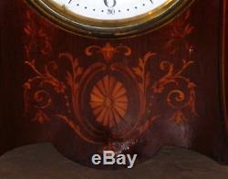 Antique Seth Thomas Touraine Mahogany Cabinet Clock Running Circa 1913