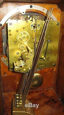 Antique Seth Thomas Westminster Deco Mantle Clock