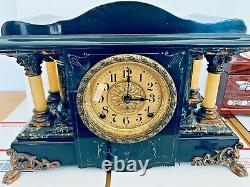 Antique Seth Thomas Wood Clock