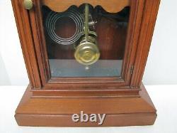 Antique Seth Thomas Wooden Mantle Clock