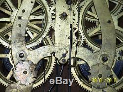 Antique Seth Thomas c1879 Calendar Clock