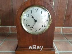 Antique Vintage Beautiful Seth Thomas Mantle Clock Works Perfectly