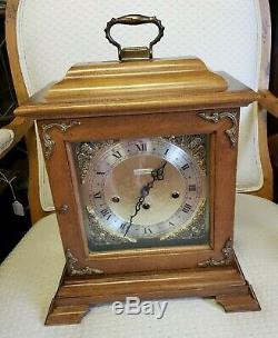 Antique Westminster Seth Thomas Mantel Clock Pretty! 1950's Free Ship