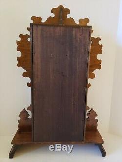 Antique Working 1888 SETH THOMAS Carthage City Series Walnut Parlor Clock