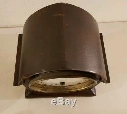 Antique Working SETH THOMAS Mahogany Gothic Beehive Mantel Shelf Clock #89 Mvmt
