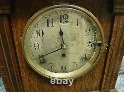 Antique seth thomas sonora chimes clock 4 bells runs great been serviced