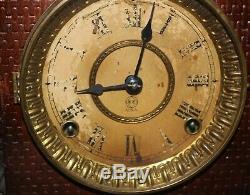 Antiques Us Made Seth Thmas Mantel Clock, Runnng