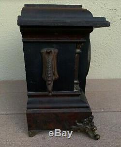 Authentic Antique E. Ingraham Mantel Clock 1890 1919