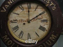 Baird, Seth Thomas Advertising Wall Clock