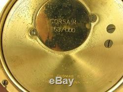 Brass Ships Bell Clock Seth Thomas Corsair Mahog Base Artful Dodger Cinci, Oh