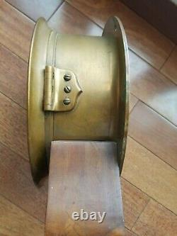 Brass Ships Clock Maritime E Howard Chelsea Seth Thomas engine room Chronometer