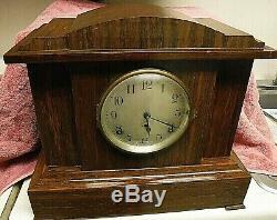 C seth thomas sonora chimes clock 4 bell adamantine original