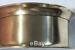 Double Spring U S Navy N0. 3 Deck Clock, Rare