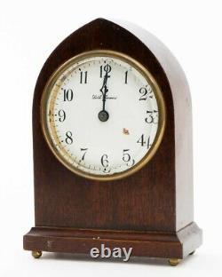 Early 1900's SETH THOMAS Beehive Mahogany Mantel Clock 103G 7.5 For Repair