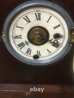 Early Antique Seth Thomas Plymouth Hollow Cottage Clock