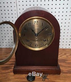 Early Seth Thomas 5 Bell Sonora Chime Clock No 11 Westminster Mantle Shelf Table