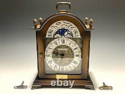 Exquisite Antique Seth Thomas Lunar 8- Day Westminster and Chime Mantle Clock