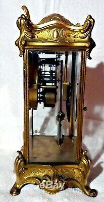 French Style Seth Thomas Antique Mantel Clock Empire
