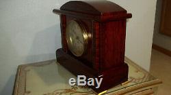 Fully & Properly Restored Seth Thomas Adamantine Case Clock, Belmont No. 2 Model