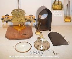 Fully Restored Seth Thomas Mahogany Mid-size Antique Chime Clock No. 95-1926