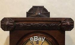 Huge Seth Thomas City Series Pittsburgh V. P. Parlor Shelf Mantle Clock