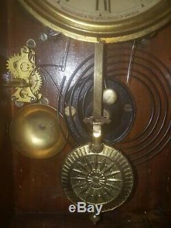 Large Vintage Seth Thomas Parlor Mantel Clock