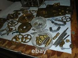 Lot of Vintage-Seth Thomas-#2 Clock Movement/Parts-#E297