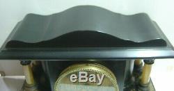 Lovely Seth Thomas Shasta Mantel Clock Recently ran for 8 days straight Estate