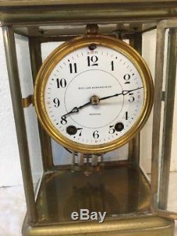 Magnificent Antique Seth Thomas 48S Crystal Regulator Clock Bigelow Kennard Co
