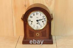 Modern Seth Thomas'Style' Bonnet Top Westminster Chime Clock