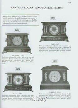 New 2 Vol Seth Thomas Clocks & Movements Tran Duy Ly w Price Booklet, $0 Ship