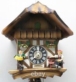Nice Nice German Black Forest Seth Thomas Swiss Chalet Serenade Cuckoo Clock